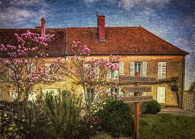 Digital Art - La Maison by Chris Hood