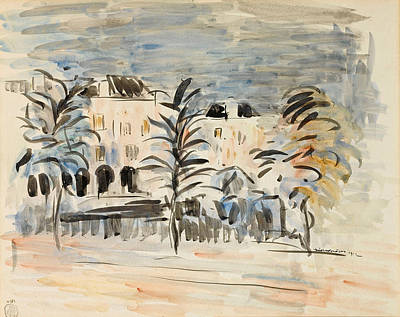 Drawing - La Maison Haute by Rik Wouters