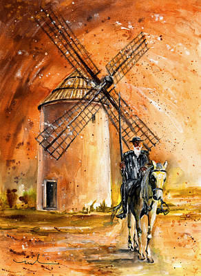 Painting - La Mancha Authentic by Miki De Goodaboom
