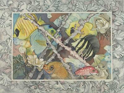 Bekman Wall Art - Painting - La Mer Et La Terre by Liduine Bekman