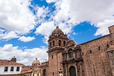 Thomas Kinkade - La Merced Convent in Cuzco Peru by Jess Kraft