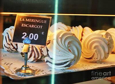 Pastry Bag Photograph - Les Meringues De Laurent Soro by Poet's Eye