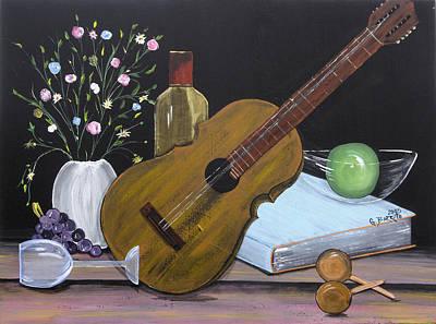 La Musica Por Dentro Art Print