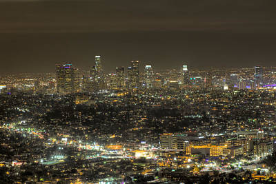 Photograph - La Nights by Kim Wilson