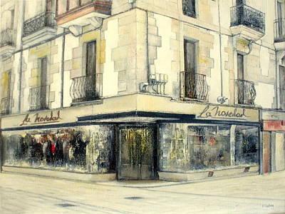 Spain Painting - La Novedad-santander by Tomas Castano