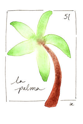 Painting - La Palma by Anna Elkins