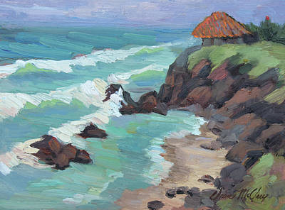 Painting - La Paloma Rosarito by Diane McClary
