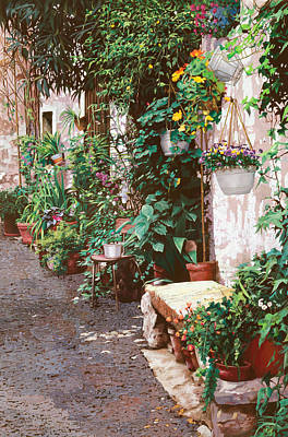 The Masters Romance Royalty Free Images - La Panca Di Pietra Royalty-Free Image by Guido Borelli