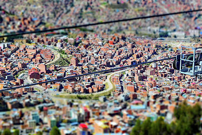 Photograph - La Paz, Bolivia No. 29 by Sandy Taylor