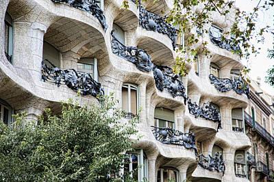 La Pedrera Casa Mila Gaudi  Art Print