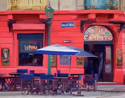 Painting - La Perla Buenos Aires by Wally Hampton