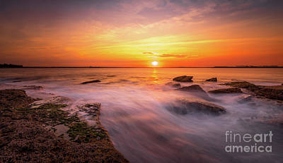 Photograph - La Perouse Sunset by Helen Woodford