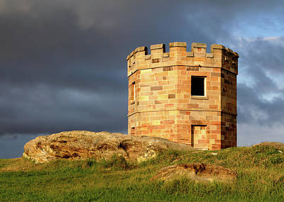 La Perouse Watch Tower Art Print by Nicholas Blackwell
