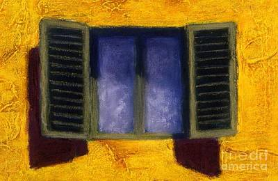 Painting - La Persiane Verdi by Mary Erbert