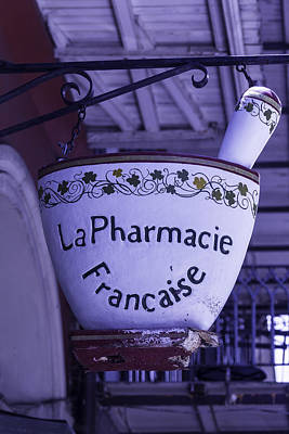 Photograph - La Pharmacie by Garry Gay