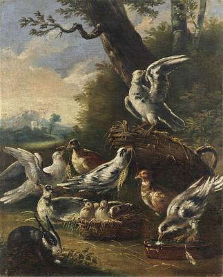 Painting - La Piccionaia by Felice Boselli
