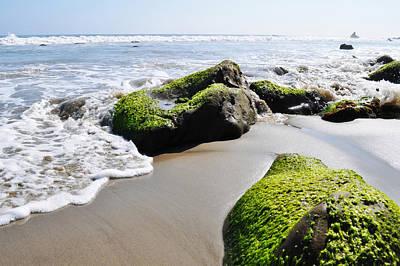 La Piedra Shore Malibu Art Print