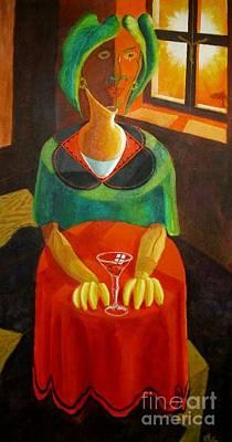 Painting - La Pieta Anunciata by David G Wilson