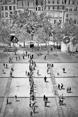 Photograph - La Place Georges-pompidou by Nikolyn McDonald