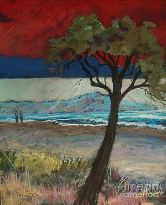 Pastel - La Playa by Robin Maria Pedrero