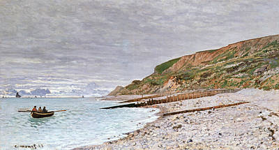 La Pointe De La Heve Print by Claude Monet