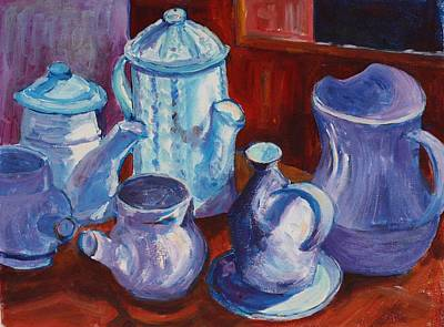 Painting - La Poterie At St. Cirq La Popie by Tara Moorman