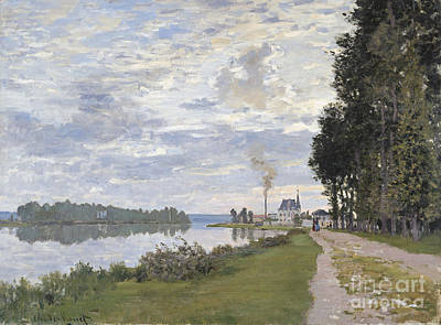 Painting - La Promenade D'argenteuil by Celestial Images