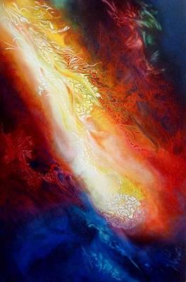 Painting - la prophetie du Chaos by Bielen Andre