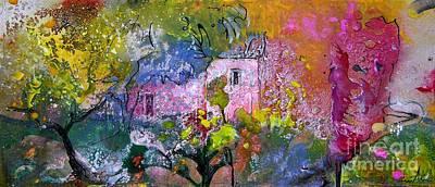 Provence Mixed Media - La Provence 04 by Miki De Goodaboom