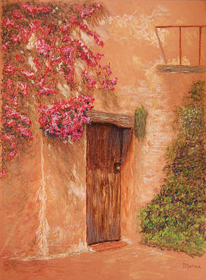 Pastel - La Puerta by Marina Garrison