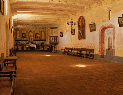 Photograph - La Purisima Church by Thomas Hall