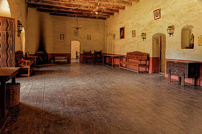 Photograph - La Purisima Main Room by Thomas Hall