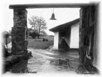 Photograph - La Purisma Bell by Gary Brandes
