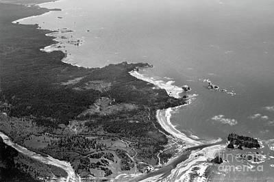 Photograph - La Push, James Island, Quillayute River,  Washington Circa 1950 by California Views Mr Pat Hathaway Archives