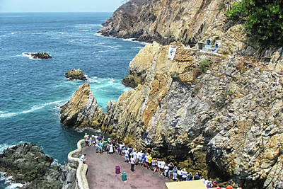 Photograph - La Quebrada by Tatiana Travelways
