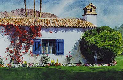 Painting - La Quinta Casita by Tyler Ryder
