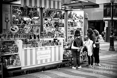 Photograph - La Rambla Treats by John Rizzuto