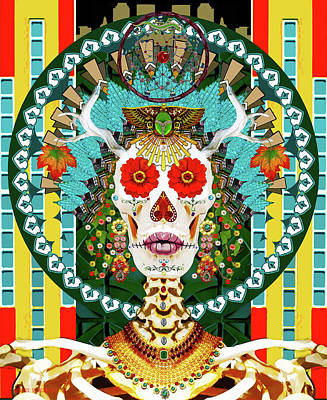 Photograph - La Reina De Los Muertos by Susan Vineyard