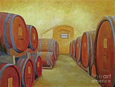 Painting - La Reserve De Montagliari  by Phyllis Howard