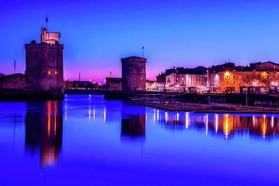 Photograph - La Rochelle At Dusk by Cosy Hotels La Rochelle