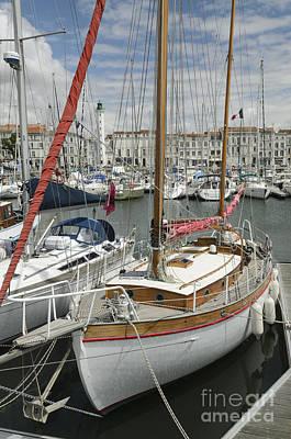 Photograph - La Rochelle Harbour by Michael  Winters