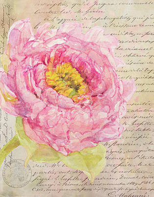 Mixed Media - La Romantique by Colleen Taylor