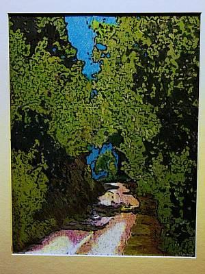 La Romita Road Art Print by Tom Herrin