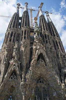 Photograph - La Sagrada Familia by Frank DiMarco