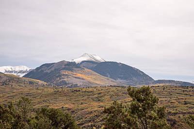 Photograph - La Sal Mountain Aspens by Michael Gooch