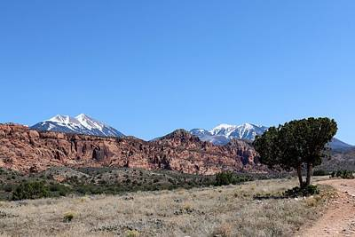Old Masters - La Sal Mountains - 3  by Christy Pooschke