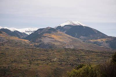 Photograph - La Sal Mt Scale by Michael Gooch