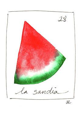 Painting - La Sandia by Anna Elkins