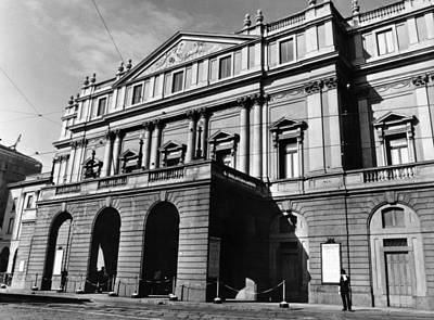 La Scala, Opera House, In Milan, Italy Art Print