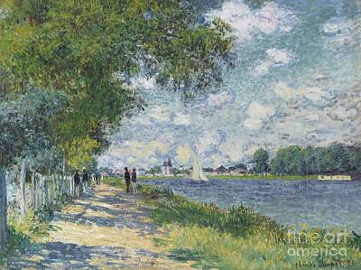 Claude Painting - La Seine A Argenteuil by Celestial Images